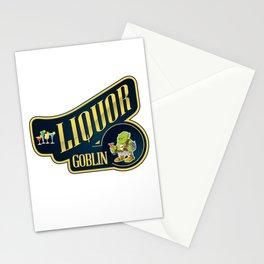 Liquor Goblin Fantasy Bartender Mixologist T-Shirt Stationery Cards