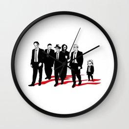 Reservoir Killers I Wall Clock