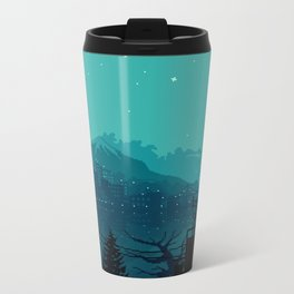 Dark Harbor Metal Travel Mug