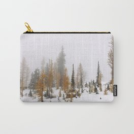 Larch Trees Carry-All Pouch