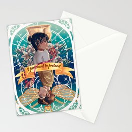 The witch and the seeker. Stationery Cards