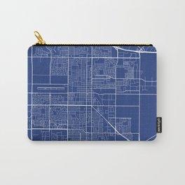 Oxnard Map, USA - Blue Carry-All Pouch