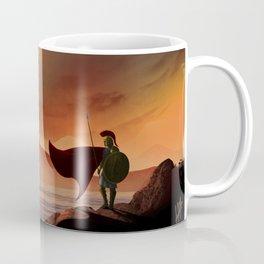 Greek Warrior Watches for Ships Coffee Mug