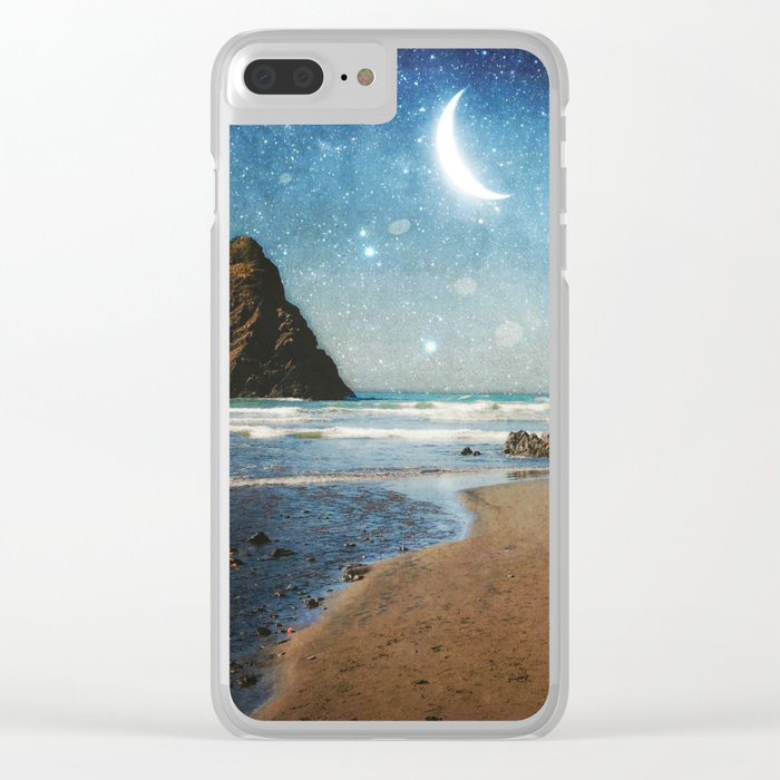 Oregon Moondust Clear iPhone Case
