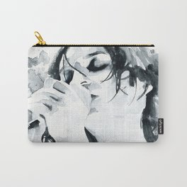 Brian Molko (breathing in) Carry-All Pouch
