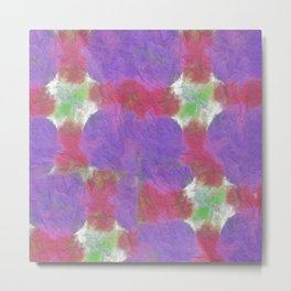 Abstract Tie Dye #5 Metal Print