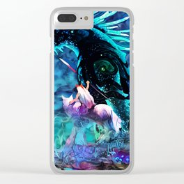 Colorful Shinigami Clear iPhone Case