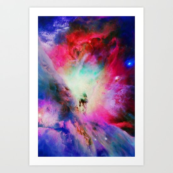 Cosmic Blossom Art Print