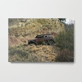 The end of the begining Metal Print