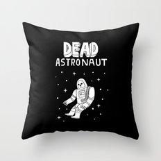 Dead Astronaut Throw Pillow