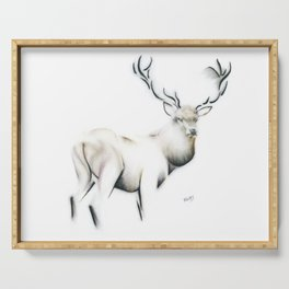 Highland Stag Serving Tray
