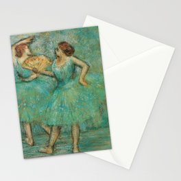 Two Dancers Stationery Cards