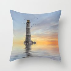 The Lighthouse 2 Throw Pillow