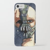bane iPhone & iPod Cases featuring Bane by Blue Moon Hippie