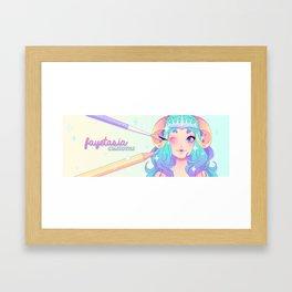Guenwyvhar Banner Framed Art Print