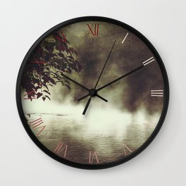 a place beyond - river scene Wall Clock