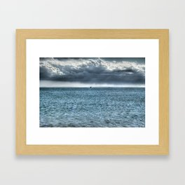 Coming Home - Falmouth, Cape Cod Framed Art Print
