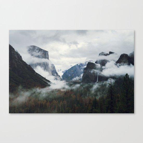 Mountain Landscape photography Canvas Print