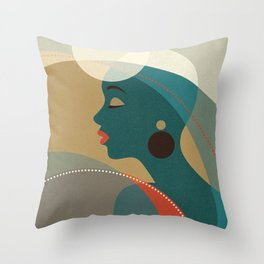 Venn Deco (Part I) Throw Pillow
