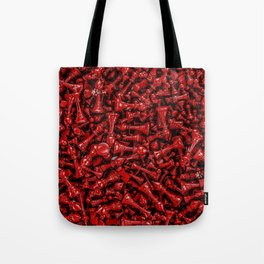 Bloody chess Tote Bag