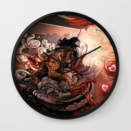 Hurry up to love Wall Clock
