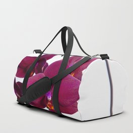 Orchid Flowers 08 Duffle Bag