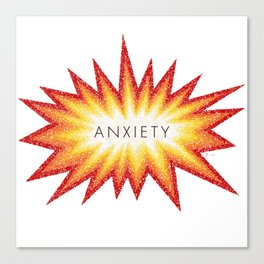 Anxiety Attack Canvas Print