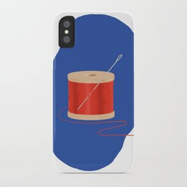 Thread and Needle iPhone Case
