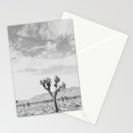 JOSHUA TREE V (B+W) Stationery Cards
