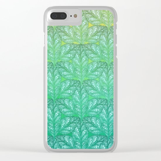 Leaf Skeletons #4 Clear iPhone Case