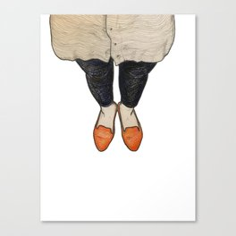 Shoe-In Canvas Print