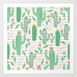 cactus pc Art Print