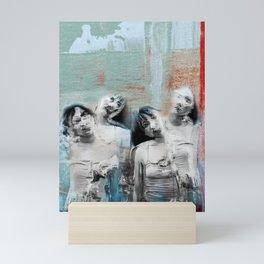 Four shades Mini Art Print