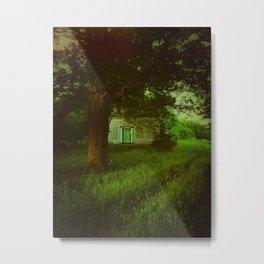 Emerald Abode Metal Print