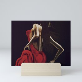 Crimson Beauty Mini Art Print