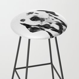Black and White Dalmatian Bar Stool
