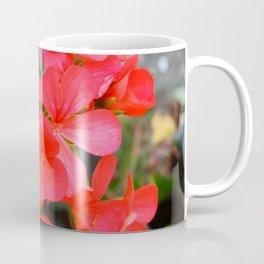 Red blossom pattern Coffee Mug