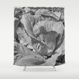 Noonday Farm Cabbage Shower Curtain