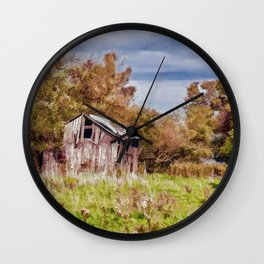 The old shed Wall Clock