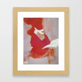 LeTTRiCeRoSSa Framed Art Print