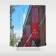 ... Red Sox   2013 World Series Champions! Fenway Park Shower Curtain ...