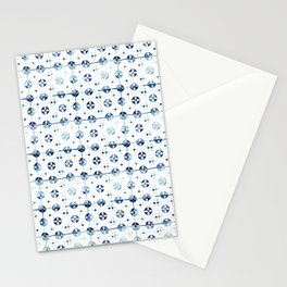 Azulejo I - Portuguese hand painted tiles Stationery Cards