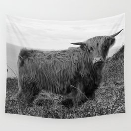 Highland cow II Wall Tapestry