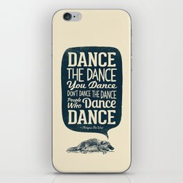 Platypus The Wise iPhone Skin