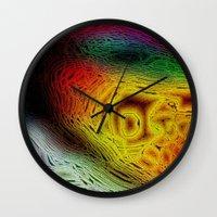 sofa Wall Clocks featuring Sahel Kazemi's Sofa II by RingWaveArt
