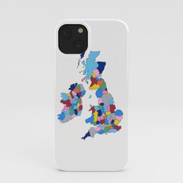 England, Ireland, Scotland & Wales iPhone Case