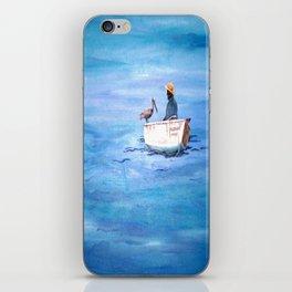The Fisherman of Bonaire iPhone Skin