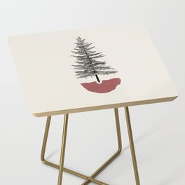 Fir Pine Side Table