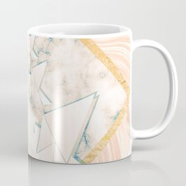 Paper doves on marble Coffee Mug