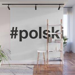 POLSKI Hashtag Wall Mural